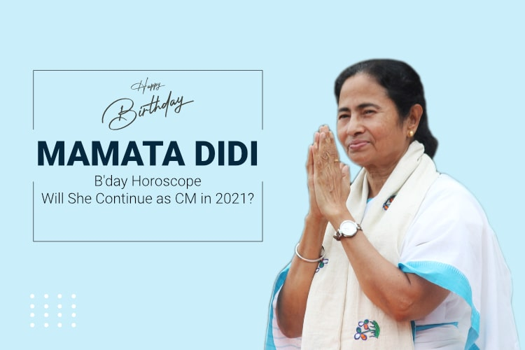 Mamata Banerjee Horoscope & Future Predictions for West Bengal Elections